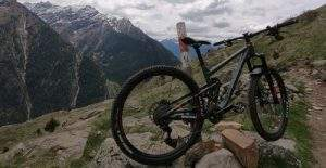 Adula Alps - mountain bike