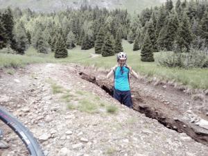 Pure MTB trail erosion
