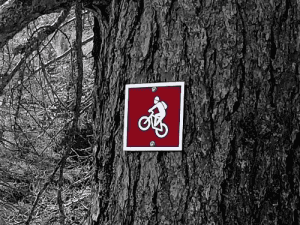 Pure MTB sign posting trails waymark