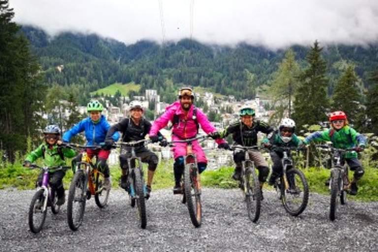 SERVICES - Davos - Bike Academy Davos - Kids Enduro