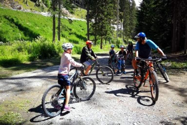SERVICES - Davos - Bike Academy Davos - Kids Lesson