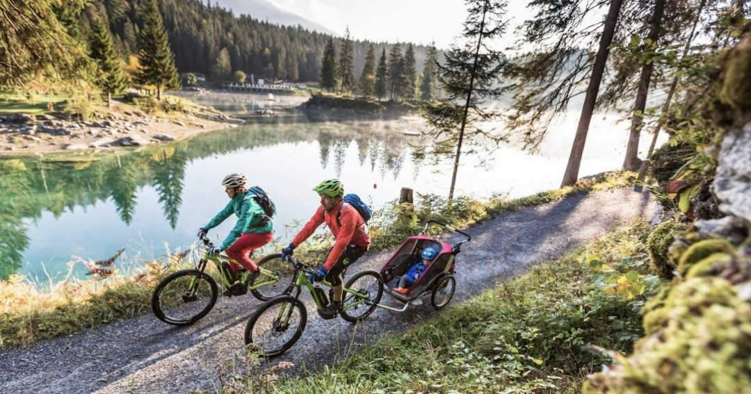 ARTICLE - Flims Laax - Family bike holiday