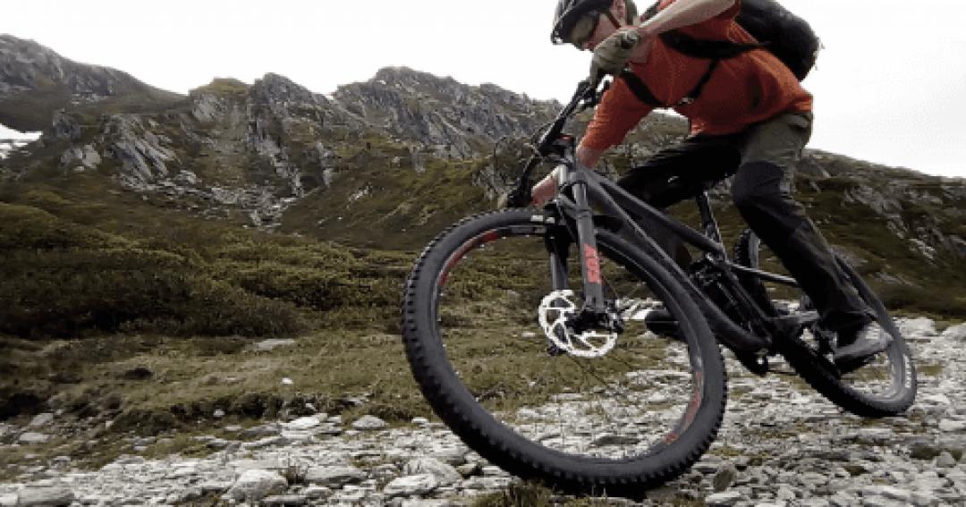 Mountain bike MTB skills cornering loose trails